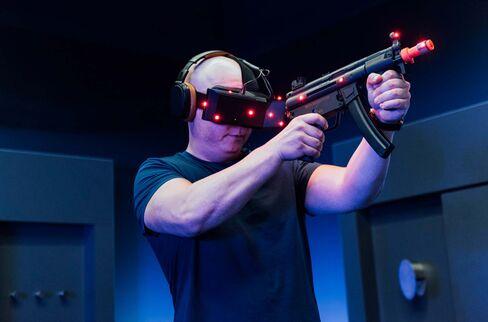 VRゲームの利用者