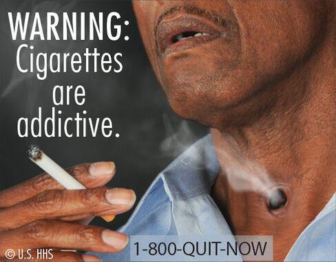 New Warning Labels on U.S. Cigarette Packs