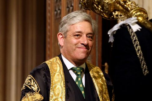 Cameron and other Tories have had a series of spats with Bercow, who used to be a Conservative lawmaker, resigning his party affiliation on first being elected to the speakership in June 2009 in line with parliamentary convention.