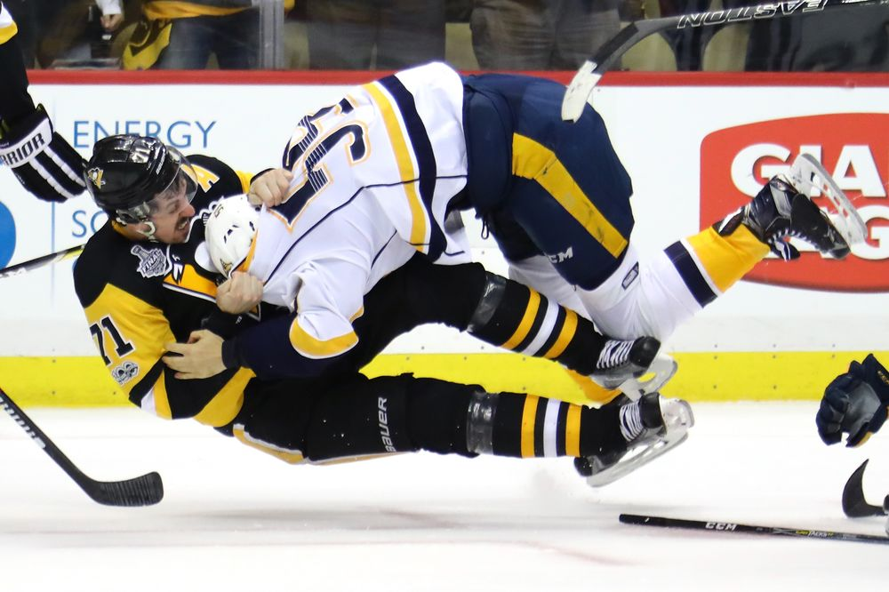 The Stanley Cup and NBA Finals of Economic Performance