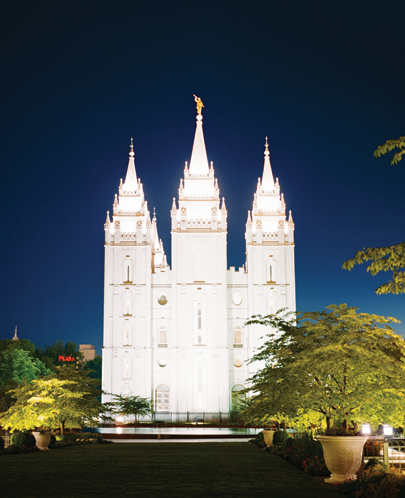 The Church: The imposing Salt Lake Temple took 40 years to build
