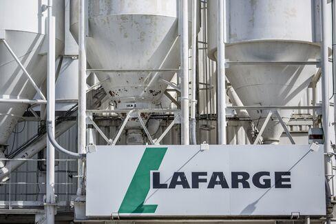 A Lafarge Cement Distribution Depot