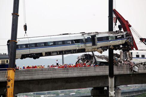 Crash May Give 'Zero' Chance for Train Exports
