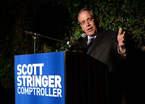 New York Comptroller-elect Scott Stringer