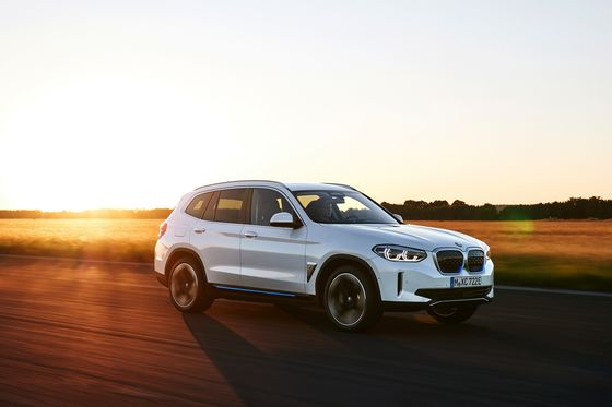 BMW Rolls Out China-Made Electric SUV to Take on Tesla's Model Y