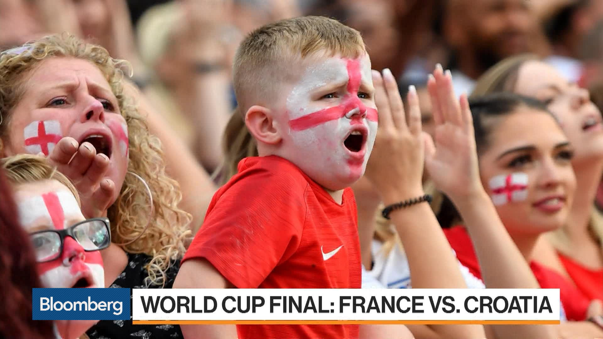 France and Croatia to Face Off at World Cup Final – Bloomberg