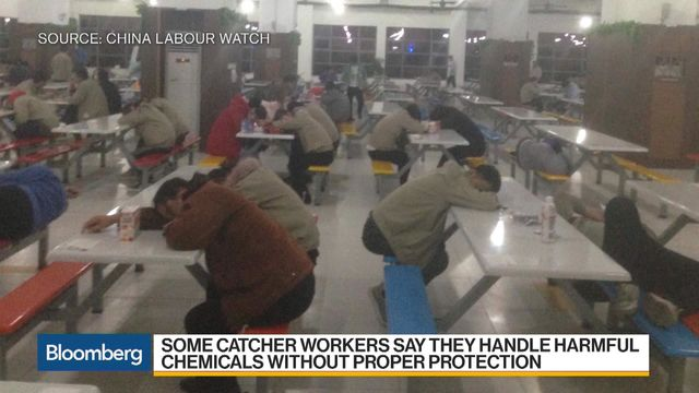 Apple Supplier Workers Describe Noxious Hazards at China Factory