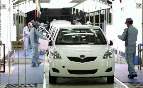 Toyota Output Loss May Top 40,000 Vehicles