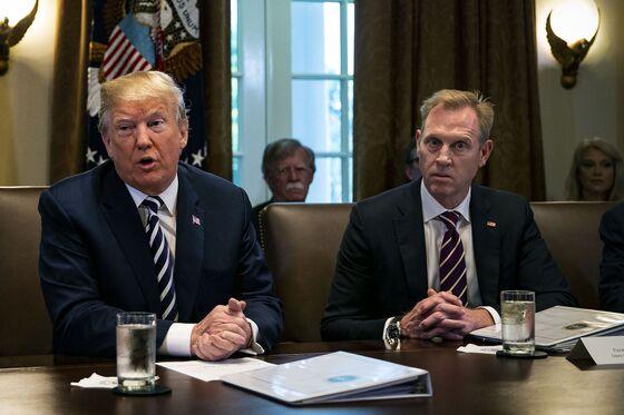 Acting Defense Secretary Takes Command, Hailing Trump and Mattis