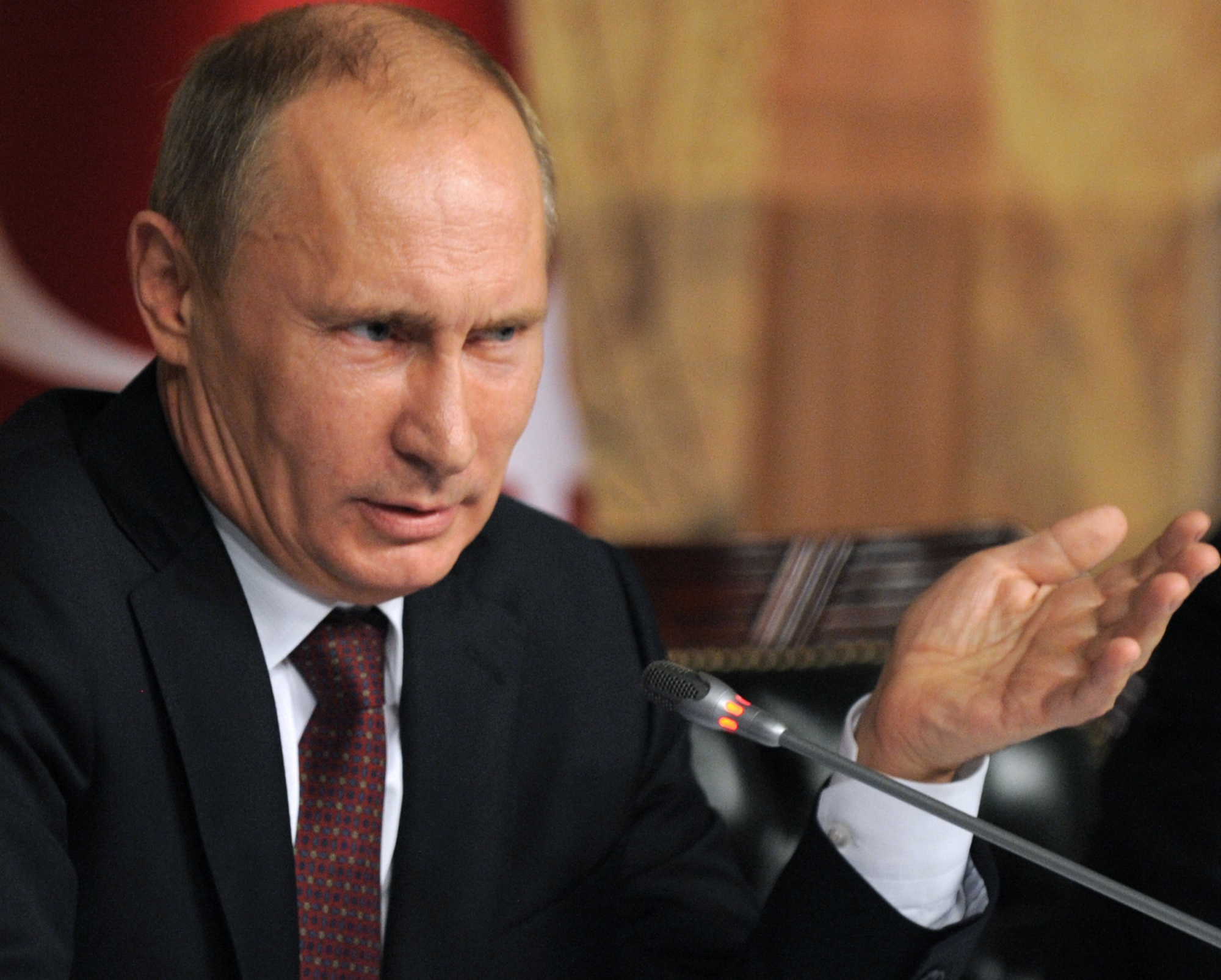 Putin Lives in a World Without Rules