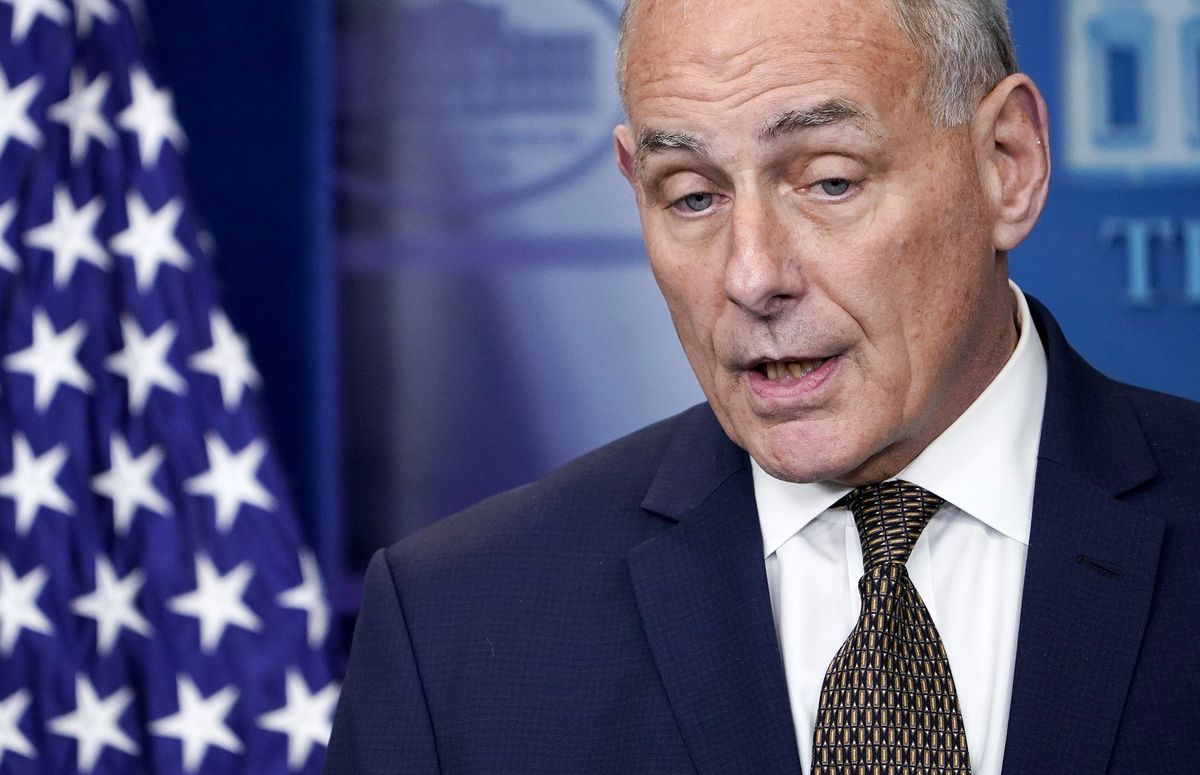 Trump's Chief of Staff Says He's Not Quitting or Being Fired