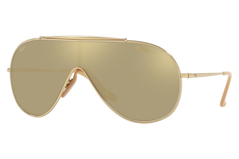 ray ban wings the 24k gold plated aviator sunglasses for 518