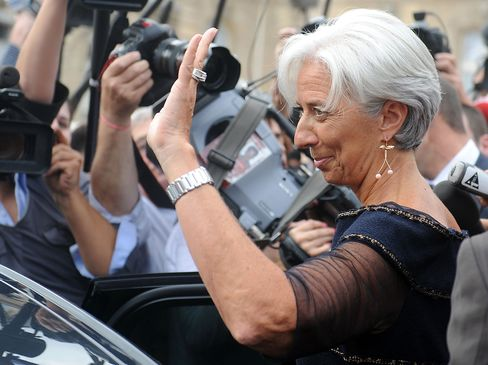 France's Minister of Finance Christine Lagarde