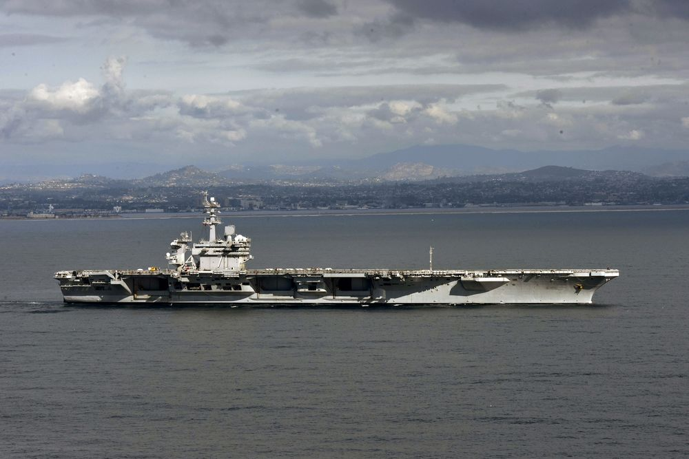 The Theodore Roosevelt Carrier