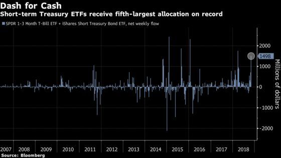 ETF Investors Hunker Down in Cash as Search for Shelters Rules