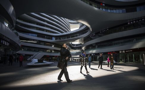General Views Of Beijing As China's Great Economic Shift Brings Little To Global Rebalancing