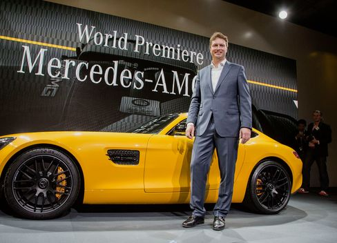 Mercedes GT World Premiere