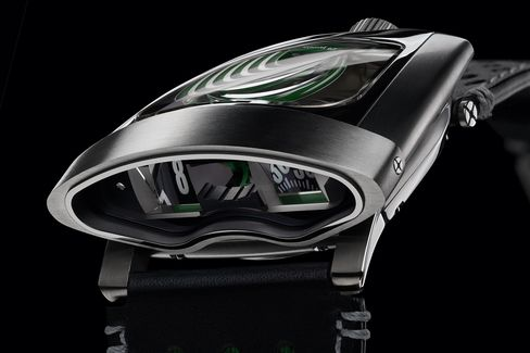 The HMX is MB&F's 10th anniversary watch.