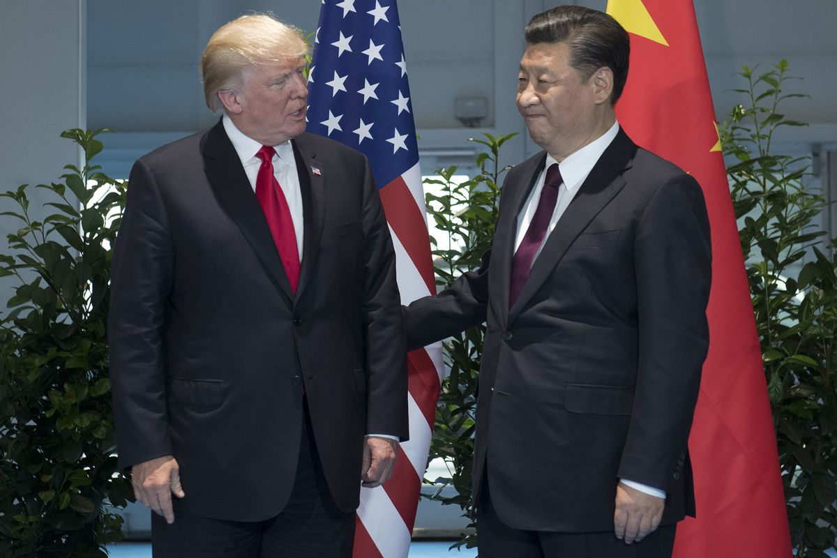 Trump talks trade, North Korea with China's Xi