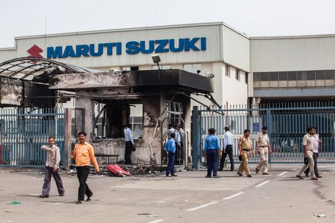 Maruti Locks Out Workers at Indian Manesar Plant After Riot