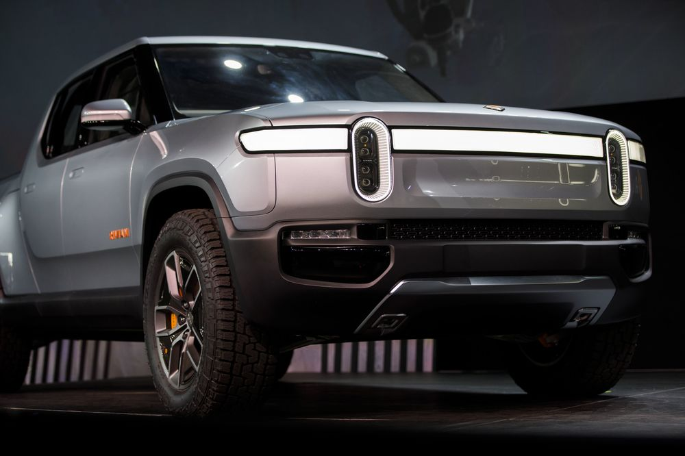 rivian challenges tesla tsla with electric suv and pickup bloomberg rh bloomberg com