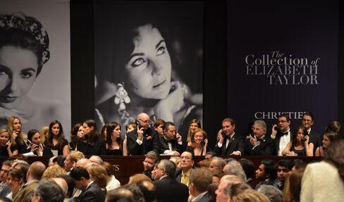 Christie's Auction of Elizabeth Taylor Jewels