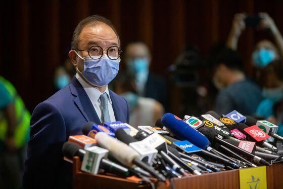 Top Hong Kong Official Says Pan-Dem Primary May Break New Law