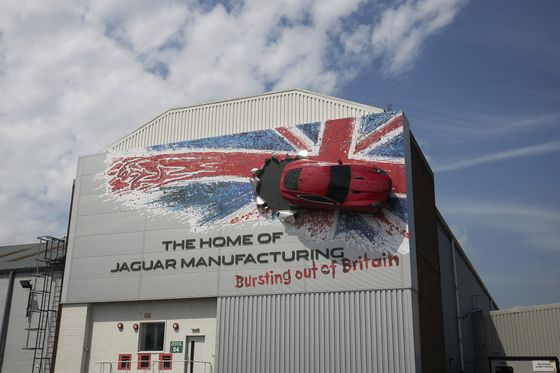 Jaguar's Electric Shift May Leave U.K. Plant With No Car to Make