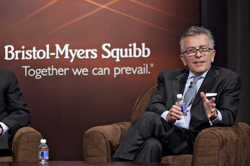 Lamberto Andreotti, Chief Executive Officer, Bistol-Myers Squibb