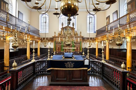 City of London Rejects Tower After Synagogue Uproar