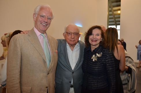 Alan MacDonald, Joseph Cohen and Jill Spalding