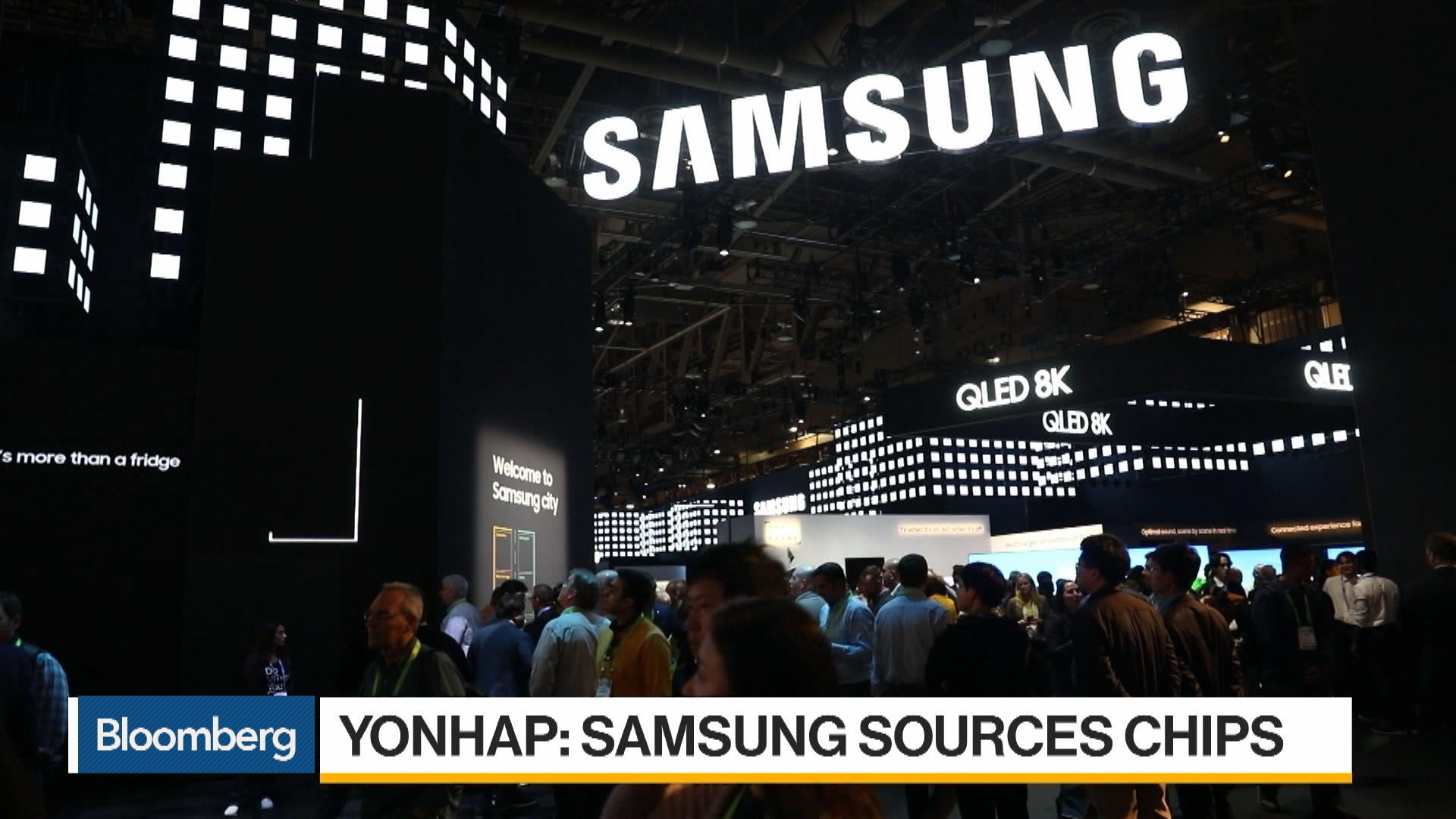 Samsung Secures Emergency Supply of Key Materials, Yonhap Reports