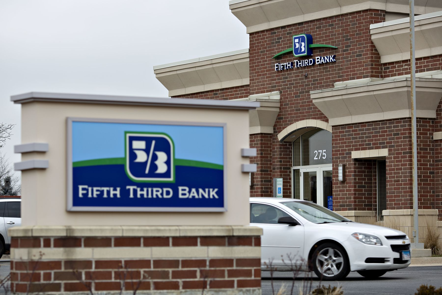 A Fifth Third Bancorp branch in Romeoville, Illinois.
