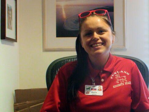 Slovakian Student Maria Bolesova