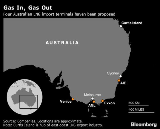 LNG Import Boom Seen as No Relief for Australian Gas Prices