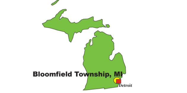 Most Expensive Suburb in Michigan: Bloomfield Township