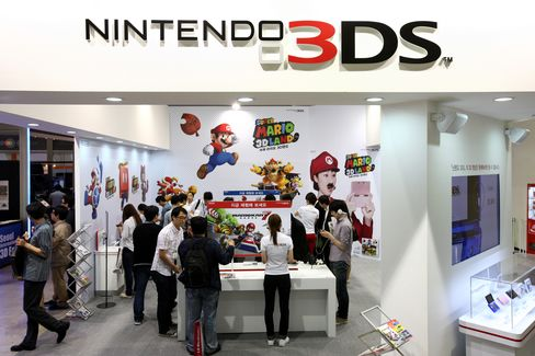 Nintendo Posts Wider-Than-Estimated Loss on Strong Yen, 3DS