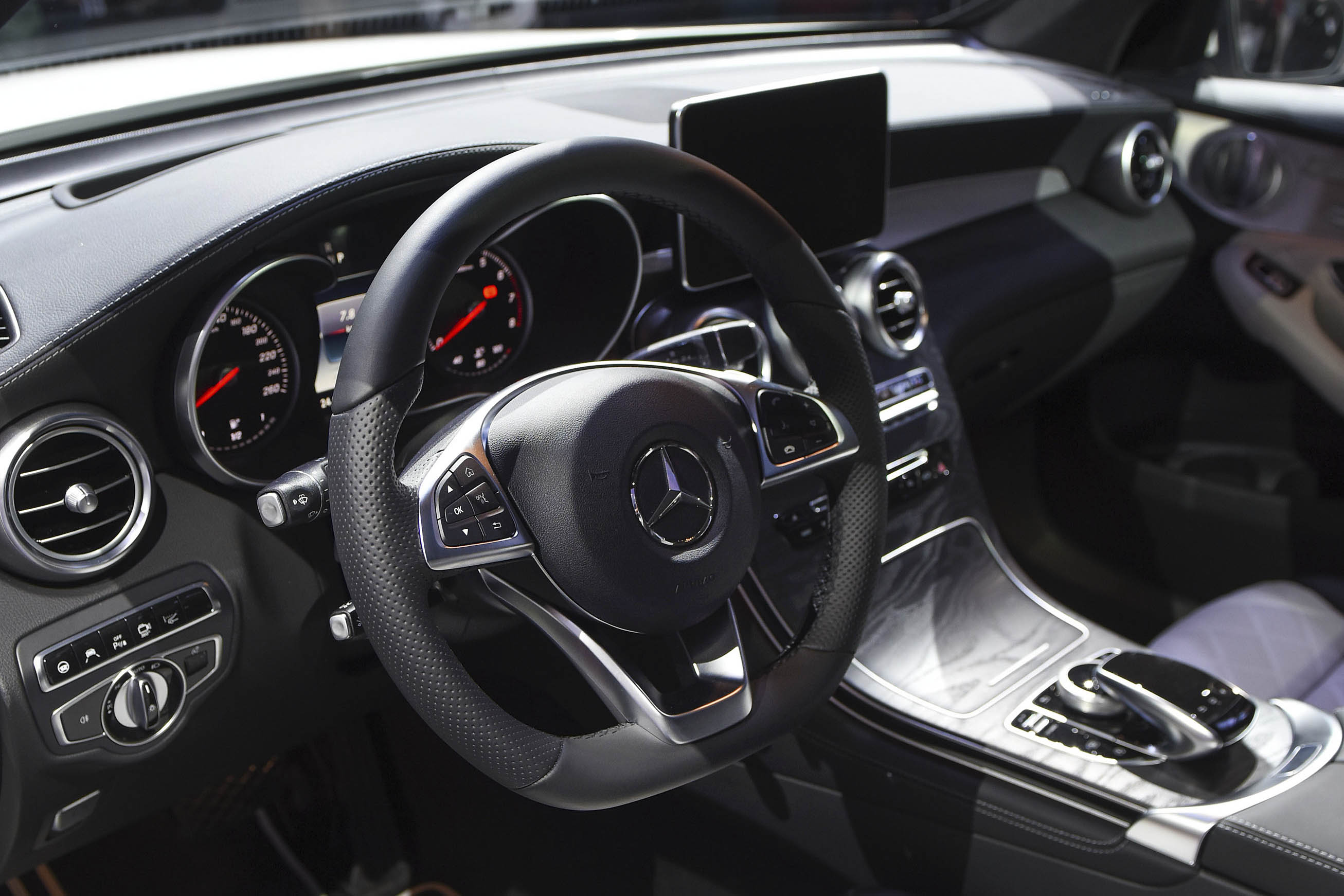 Interior of the GLC Coupe