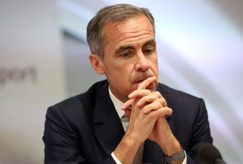 Bank of England Governor Mark Carney during a financial stability report news conference in London, on July 1, 2015.