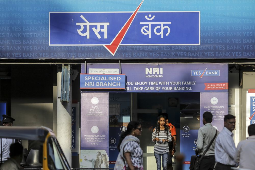 Yes Bank's Surging Bad Loans Put Capital Raising in Focus