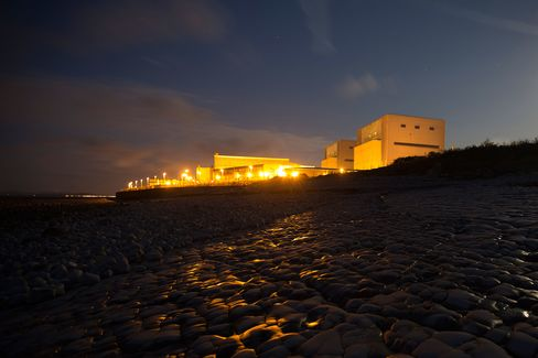Hinkley Point A nuclear power station near Bridgwater, U.K.