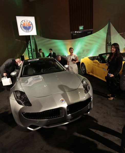 Fisker Said to Weigh Offers From Suitors Including Dongfeng
