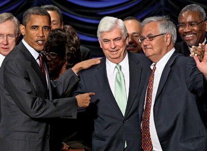The day the Dodd-Frank financial reforms became law