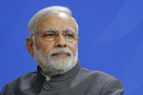 India's Prime Minister Narendra Modi Visits Berlin