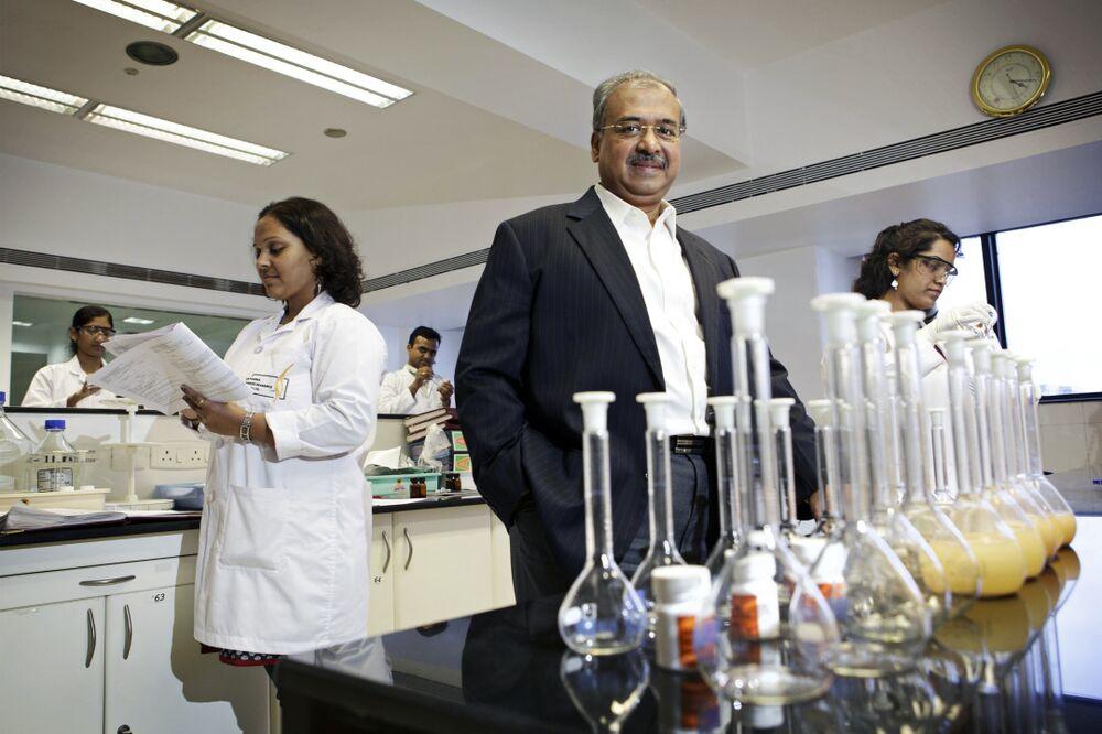 Billionaire Shanghvi's Sun Pharma Surprises With Loss - Bloomberg