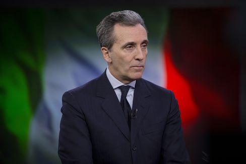 Finance Minister Vittorio Grilli