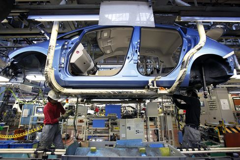Japan's Industrial Output Rose Less Than Expected in June