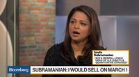relates to BofA's Subramanian:  'I Would Sell on March 1,' on U.S.-China Trade