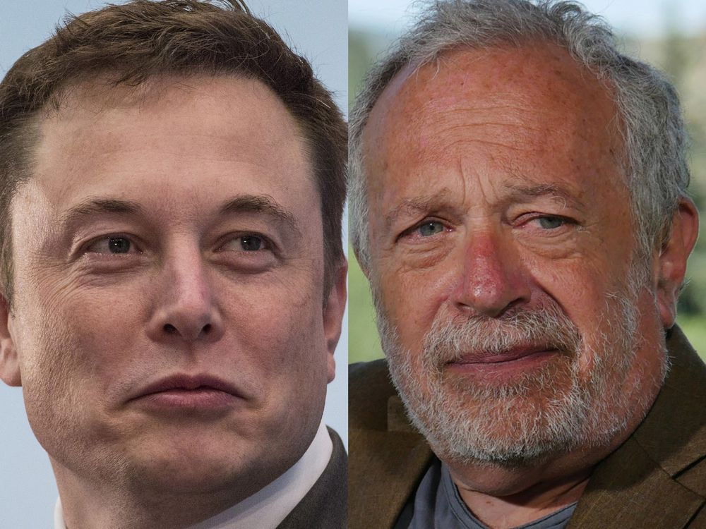 Elon Musk and Robert Reich