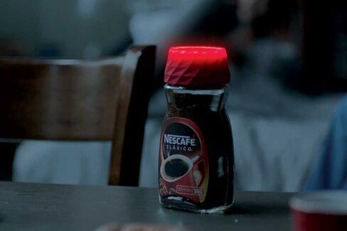 Nescaf??'s New Lid Has a Built-In Alarm Clock